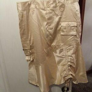 Gypsy Jeans Skirt